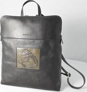 Handväska i läder